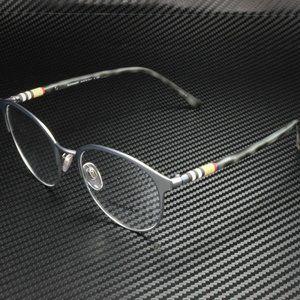 Burberry Matte Silver Gunmetal 51mm Eyegla…
